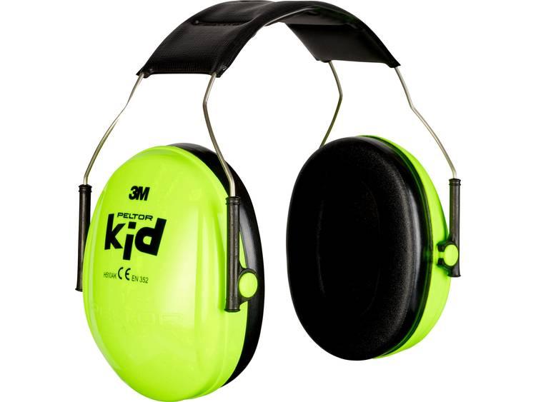 Peltor Peltor Kid oorbeschermers voor kinderen neongroen H510AK-442-GB N-A