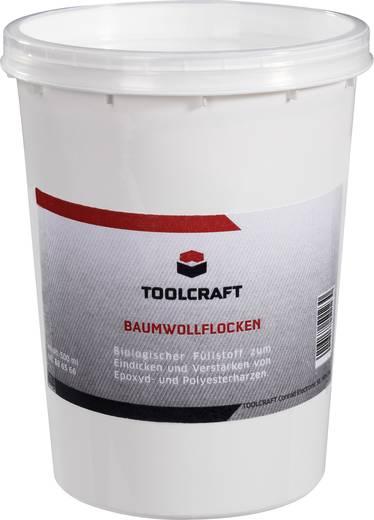 TOOLCRAFT Katoenvlokken 886566 500 ml