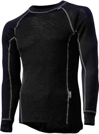Helly Hansen 75016 Functioneel shirt lang Kastrup Crewneck Black Maat=XL Zwart