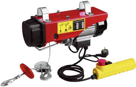 Berger & Schröter 60381 Elektrische kabeltakel 18 m Draagvermogen: 300/600 kg