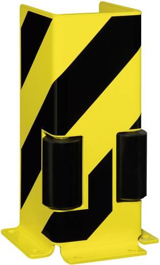 Moravia 197.22.021 MORION Aanrijbescherming U-profiel met 2 geleiderollen, op pennen vast te zetten 160 mm x 400 mm x 16
