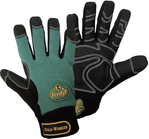 FerdyF. 1990 Handschoen MECHANICS COLD WORKER CLARINO® synthetisch leder Maat (handschoen): 9, L