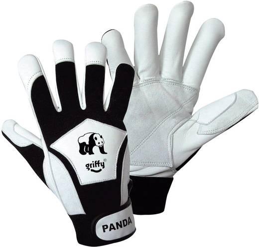Griffy 1730 Nappalederen handschoen voor fijnmechanica Panda Nappaleder en Spandex Maat (handschoen): 10, XL