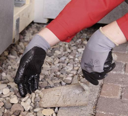 worky 1161 Fijngebreide handschoen nitril-Igel 100% polyamide met nitrillaag Maat 9