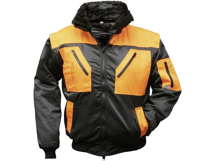 4208 4-in 1 Multifunctioneel Pilotenjack Maat: L Zwart, Oranje