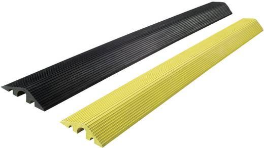 Kabelbrug Rubber Zwart Aantal kanalen: 3 1200 mm Moravia Inhoud: 1 stuks