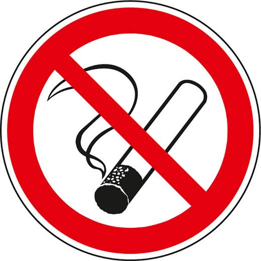 """Waarschuwingsbord """"Roken verboden"""" 610F10 (Ø) 100 mm"""