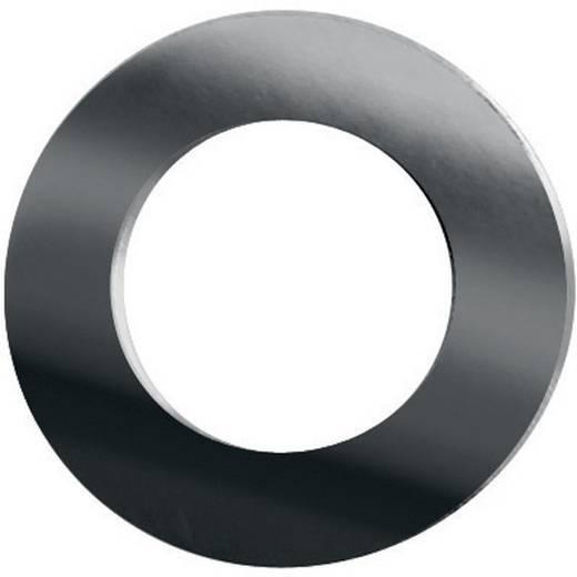 TOOLCRAFT 888061 Passchijven Binnendiameter: 4 mm DIN 988 Staal verzinkt 20 stuks