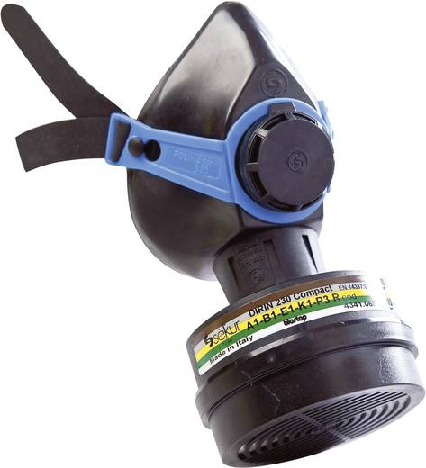EKASTU Sekur 133 335 Adembescherming halfmasker colorex multi A1B1E1K1-P3R Filterklasse/beschermingsgraad: A1B1E1K1-P3R