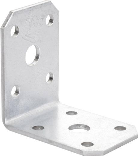 TOOLCRAFT Hoekverbinder 50 mm Staal 1 stuks