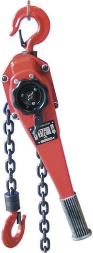 Berger & Schröter 60318 Kettingtakel met dubbel ratelmechanisme en 3000 kg draagvermogen Draagvermogen: 3000 kg