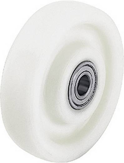 Blickle 498774 Polyamide wiel voor zware lasten Uitvoering (algemeen) Kogellagers