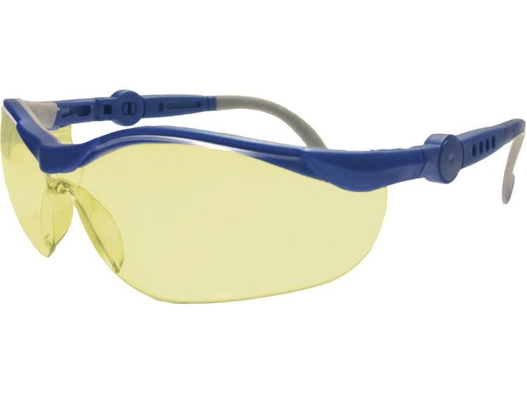 Upixx Veiligheidsbril Cycle Ergonomic geel 26751 Kunststof EN 166F