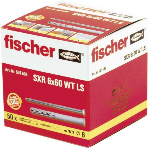 Fischer 507600 Kozijnpluggen SXR met houtschroef Nylon pluggen en houtschroeven 1 set