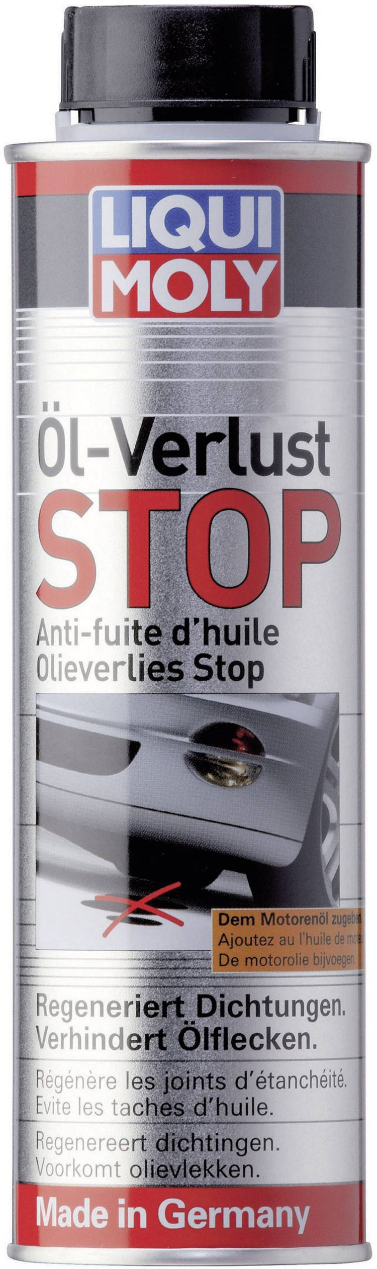 Olieverlies: STOP 300 ml Liqui Moly 1005