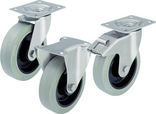 Blickle 582346 RVS apparaat-/zwenkwielen en bokrollen Uitvoering (algemeen) Zwenkwiel - glijlagers