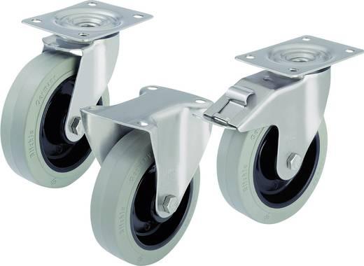 Blickle 583112 RVS apparaat-/zwenkwielen en bokrollen Uitvoering (algemeen) Zwenkwiel - kogellagers Stop-fix