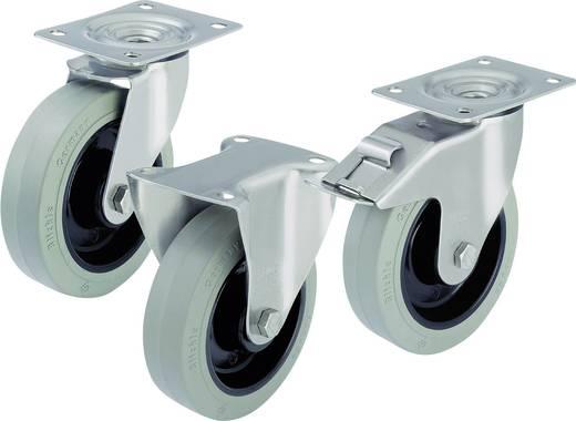 Blickle 583120 RVS apparaat-/zwenkwielen en bokrollen Uitvoering (algemeen) Zwenkwiel - kogellagers Stop-fix