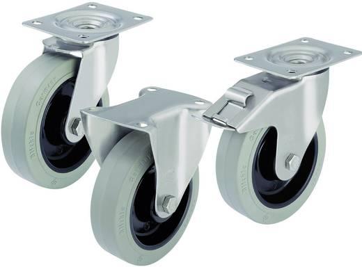 Blickle 387605 RVS apparaat-/zwenkwielen en bokrollen Uitvoering (algemeen) Zwenkwiel - kogellagers Stop-fix
