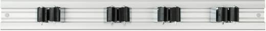 40 154 Prax houderrail voor apparatuur (l x b) 480 mm x 54 mm