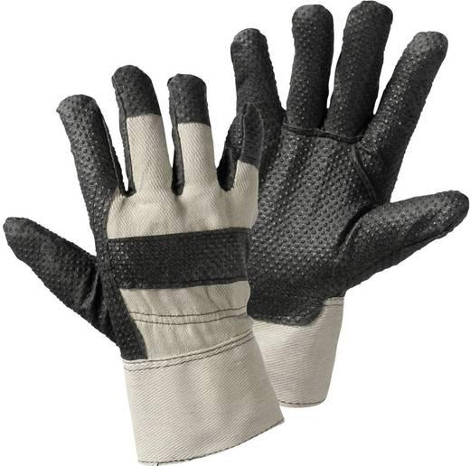 Upixx 1411 Vuilafstotende handschoen met vinyl noppen Katoen met vinylcoating Maat (handschoen): Universeel