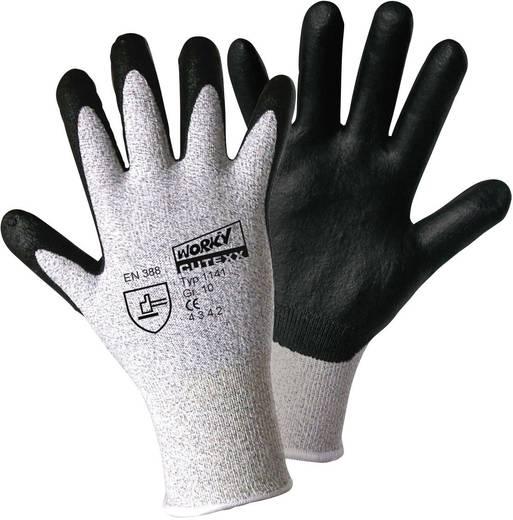 worky 1141 CUTEXX HPPE / Carbon nitrilschuim fijn gebreide handschoen Maat (handschoen): 10, XL