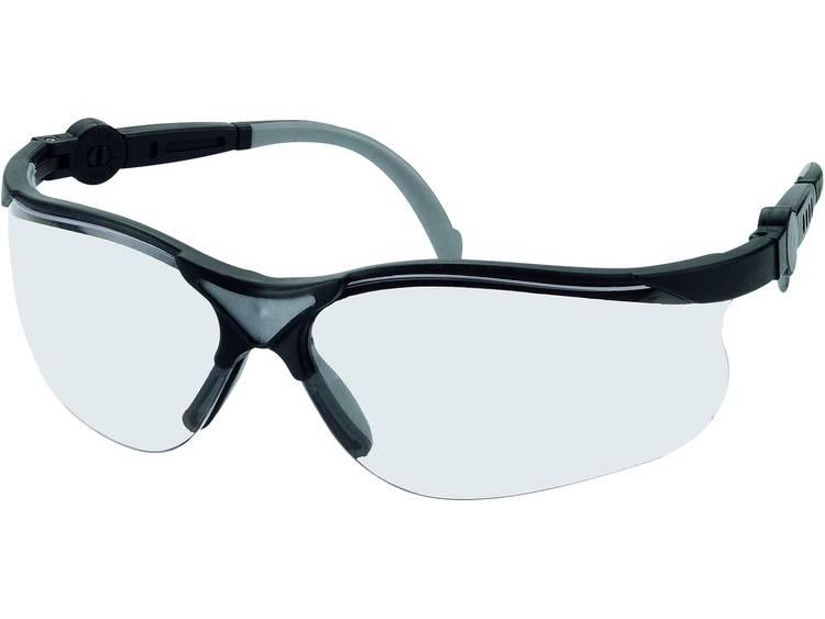 Leipold + Döhle Style Black veiligheidsbril 2671 Heldere polycarbonaat glazen, kunststof montuur EN