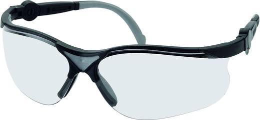 Style Black veiligheidsbril Leipold + Döhle 2671 Heldere polycarbonaat glazen, kunststof montuur EN 166F