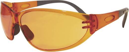 Style Orange veiligheidsbril Leipold + Döhle 2674SB Kunststof montuur, polycarbonaat glazen EN 166F