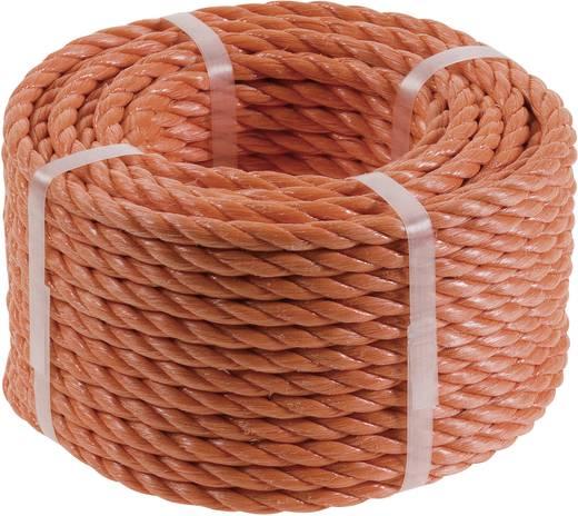 Polypropyleendraad (Ø x l) 8 mm x 20 m 9826-82 Oranje