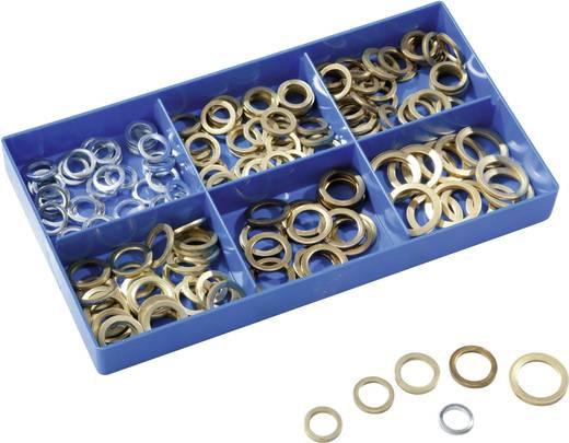 17009 186-delig Lagerringen assortiment Inhoud 186 onderdelen