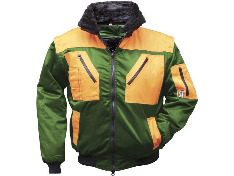 Griffy 42091 4-in 1 Multifunctioneel Pilotenjack Maat: XXXL Groen, Oranje