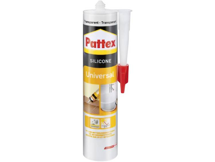 Pattex universeel silicone transparant 300 ml