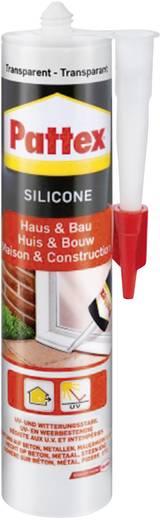 Pattex Huis & bouw Siliconen Kleur: Transparant 300 ml