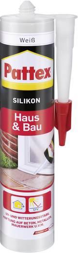 Pattex Huis & bouw Siliconen Kleur: Wit 300 ml