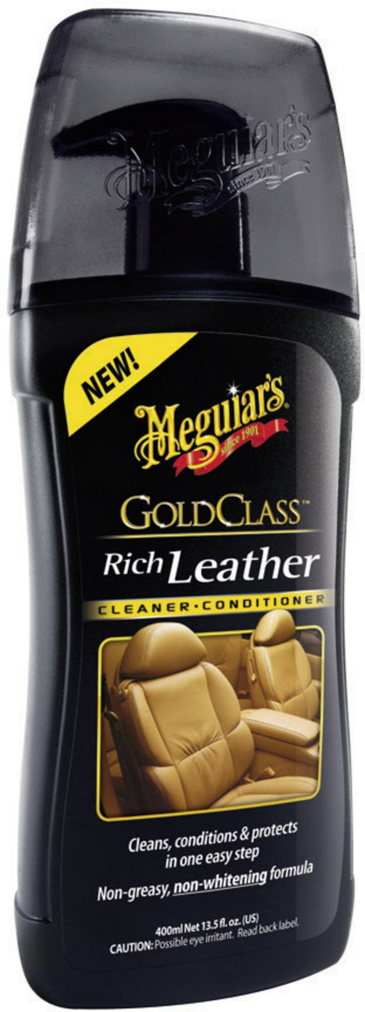 Image of Meguiars Gold Class Rich Leather Cleaner G17914 400 ml