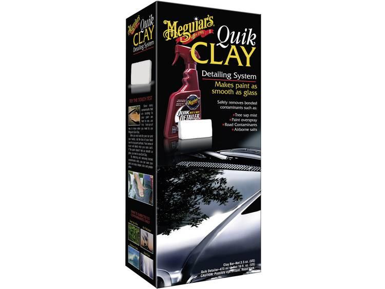 Quik Clay Detailing System Kit lakreiniger 1 set Meguiars Quik Clay Detailing System Kit 650018