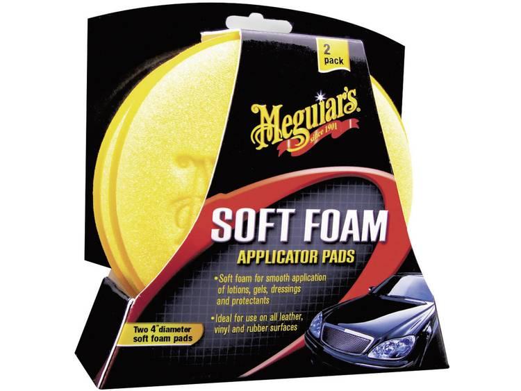 Meguiars 650012 Soft Foam Applicator Pads applicatiespons 2 stuks