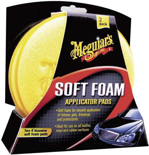 Meguiars 650012 Soft Foam Applicator Pads applicatiespons 2 stuks