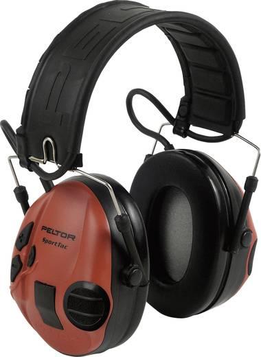 Peltor STAC-RD SportTac gehoorbeschermer Zwart, Rood N/A 1 stuks