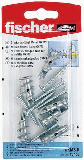 Fischer 15158 Gipskarton-/gipsvezelplaatpluggen GKM 8 mm 10 stuks