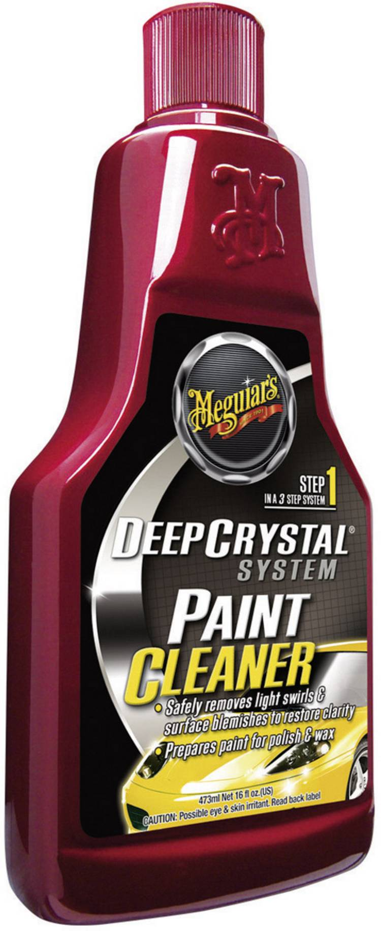 Image of Deep Crystal systeem Paint Cleaner-lakreiniger 473 ml Meguiars Deep Crystal System Paint Cleaner A3016