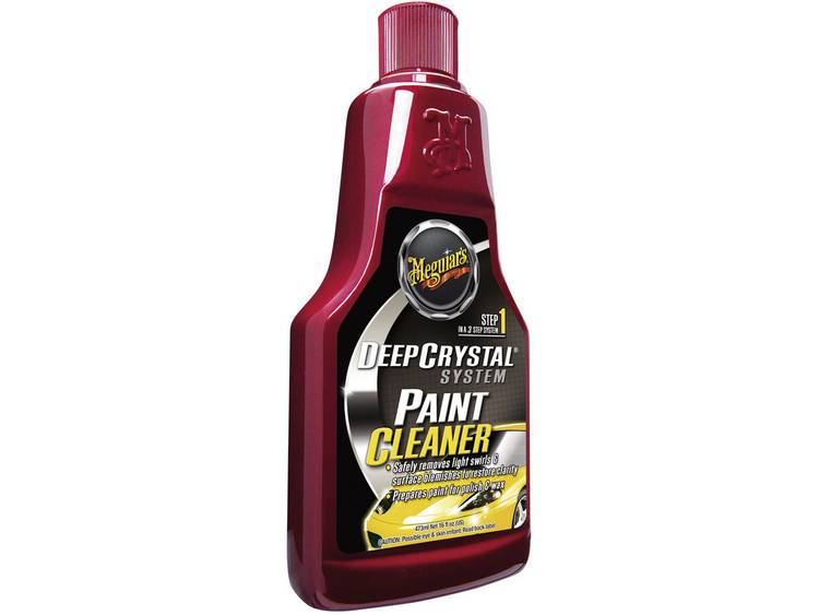 Deep Crystal systeem Paint Cleaner lakreiniger 473 ml Meguiars Deep Crystal System Paint Cleaner A3016