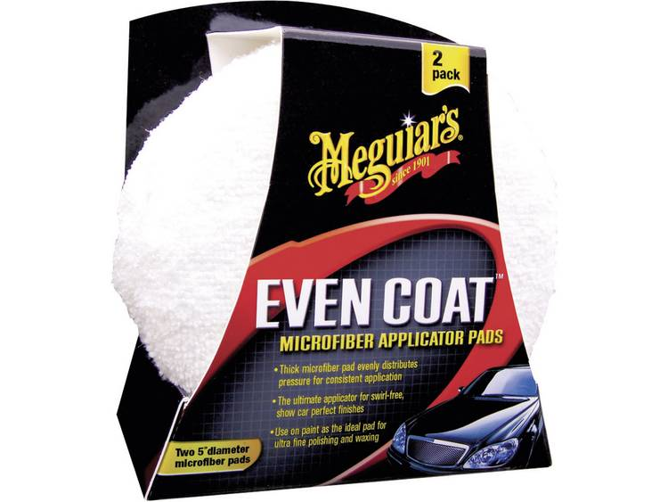 Meguiars X3080 Even Coat Microfiber Applicator Pads applicatiespons 2 stuks