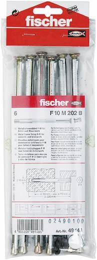 Fischer 49148 Raamkozijnpluggen F10 M 202 B 10 mm 6 stuks