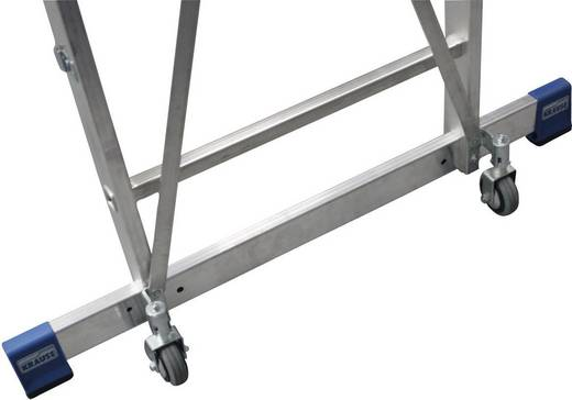Aluminium Werkhoogte (max.): 3.40 m Krause 127761 Zilver 18.5 kg