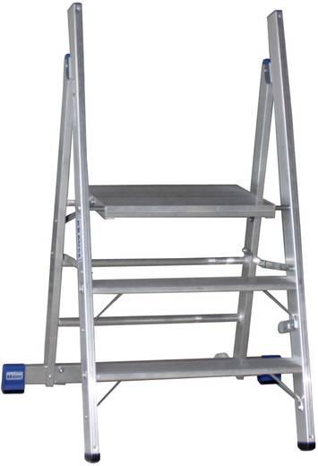 Krause 126078 STABILO professionele trap (aluminium) hoogte 2,70 m