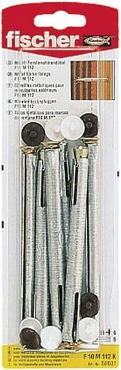 Fischer 88681 Raamkozijnpluggen F10 M 112 K 10 mm 6 stuks