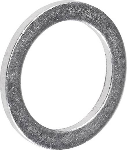 TOOLCRAFT 893842 Afdichtring Binnendiameter: 8 mm DIN 7603 Aluminium 100 stuks