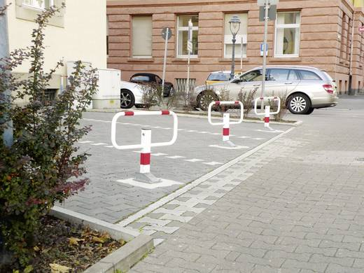 Moravia 112.14.005 SESAM private Kipp bericht umlegbar 3 reflecterende Rotringe voor inbedding 900 mm